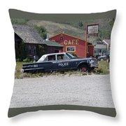 Help Police Throw Pillow