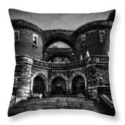 Helsingborg Black And White Throw Pillow
