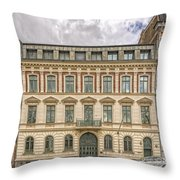 Helsingborg Building Frontage Throw Pillow