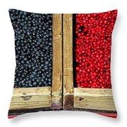 Helsinkian Berries Throw Pillow