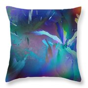 Helter Skelter Frost Throw Pillow