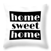 Heme Sweet Home Throw Pillow
