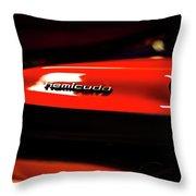 Hemicuda Throw Pillow