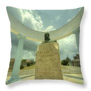 Hemingway Memorial  Throw Pillow