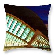 Hemispheric - Valencia Throw Pillow
