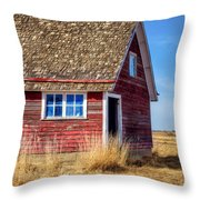 Hen House -1 Throw Pillow