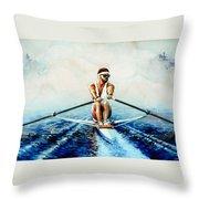 Henley On The Horizon Throw Pillow