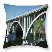 Henley Street Bridge II Throw Pillow