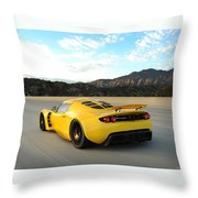 Hennessey Venom Gt Throw Pillow