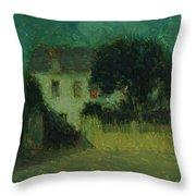 Henri Le Sidaner 1862 - 1939 Moonlight Throw Pillow