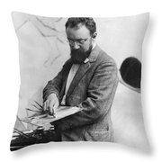 Henri Matisse (1869-1954) Throw Pillow