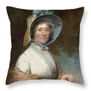 Henrietta Marchant Liston (mrs. Robert Liston) Throw Pillow
