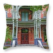 Henry B. Plant Museum Entry Throw Pillow