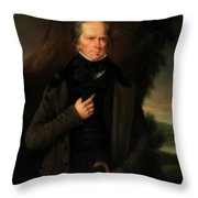 Henry Clay Throw Pillow