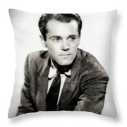 Henry Fonda, Hollywood Legend Throw Pillow