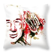 Henry Miller Portrait  Throw Pillow