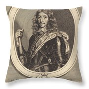 Henry Somerset, 1st Duke Of Beaufort, K.g. Throw Pillow