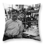 Henry Taube, Canadian-american Chemist Throw Pillow