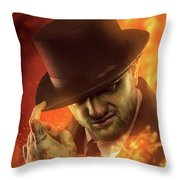 Henry The Red Throw Pillow