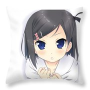 Hentai Ouji To Warawanai Neko. Throw Pillow