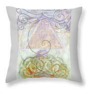 Her Craft And Wind Throw Pillow