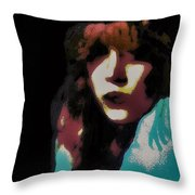 Her Dreams Throw Pillow