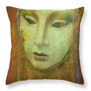 Her Party Face Throw Pillow