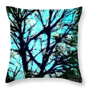 Her Perfect Tree Throw Pillow