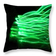 Her Spirit Lives In The Woods Throw Pillow