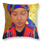 Her Story Throw Pillow