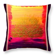 Her Sunrise Throw Pillow