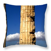 Hera Temple - Selinunte - Sicily Throw Pillow