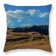 Herard Past The Dunes Throw Pillow