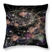 Herbaceous Throw Pillow