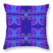 Herbern Blue Throw Pillow