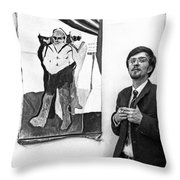 Herbert Thoma Throw Pillow