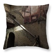 Herculaneum House Wall Art - Murals Mosaics And Arches Throw Pillow
