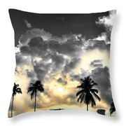 Here Comes The Sunny Throw Pillow