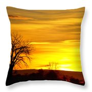 Here Comes The Sunrise Throw Pillow