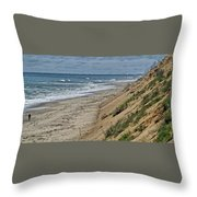 Here He Comes Throw Pillow