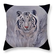 Here I Am Throw Pillow