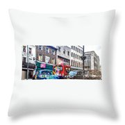 Here In London Throw Pillow