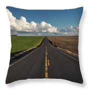 Here We Go- 2 Throw Pillow