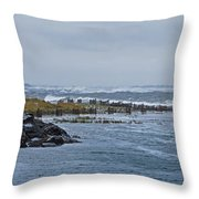 Hereford Inlet Nj Throw Pillow