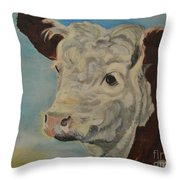 Hereford Profile Throw Pillow