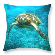 Here's Looking At You Throw Pillow