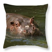 Heres Looking At You Kid Throw Pillow