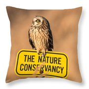 Here's Your Sign Throw Pillow