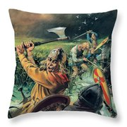 Hereward The Wake Throw Pillow