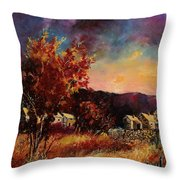 Herhet  Throw Pillow